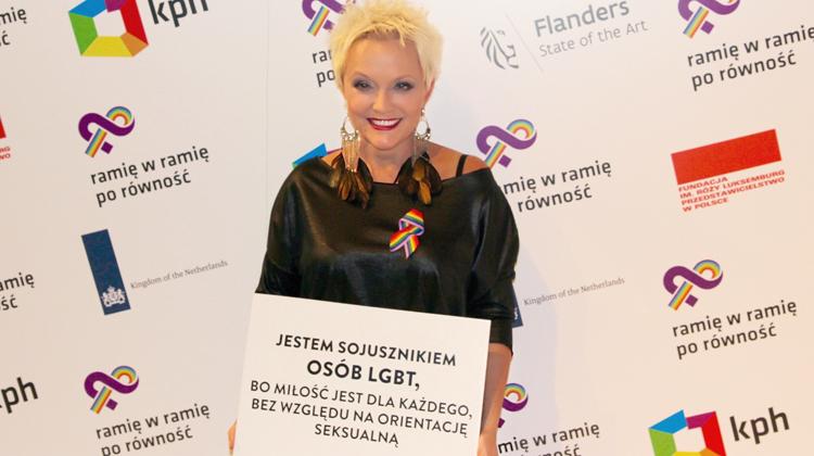 Ostrowska sojuszniczką LGBT!