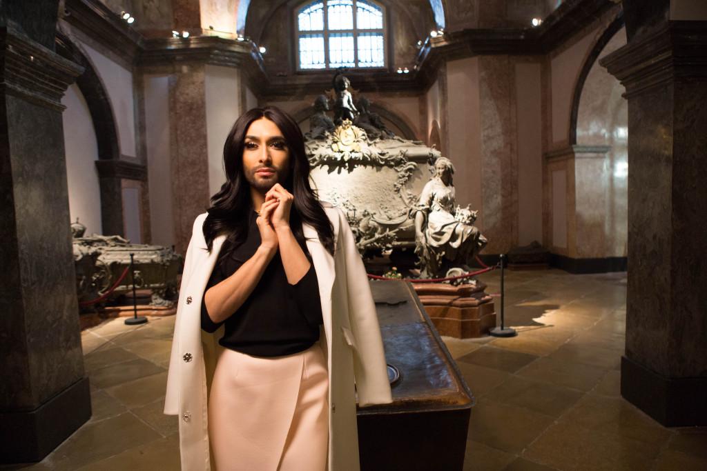 Conchita Wurst_Kaisergruft (Imperial Crypt)_(c) Fehringer-WienTourismus_034